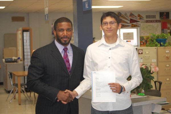 PHF Scholarship Recipient: Image #3   PHF Scholarship & Standards Program   Priest Holmes Foundation